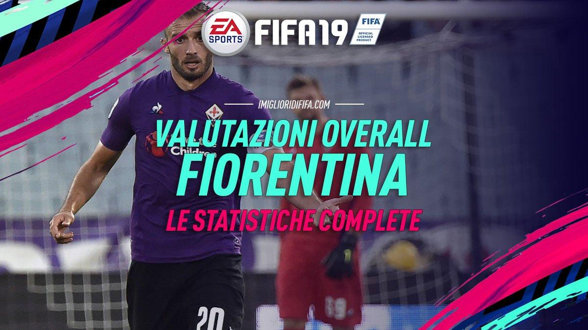 Fifa 19 Overall Fiorentina