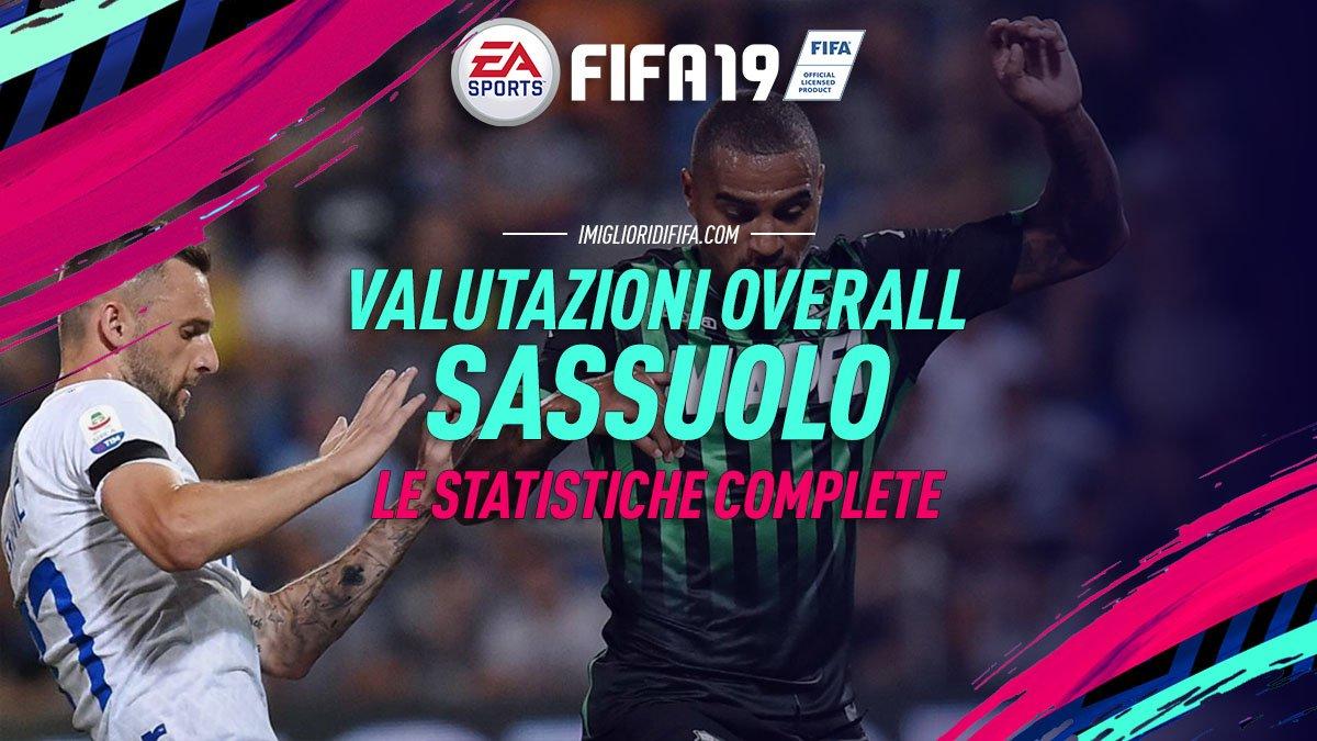 Fifa 19 Overall Sassuolo