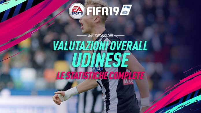 Fifa 19 Overall Udinese