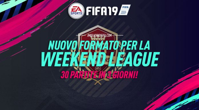 Nuovo formato Weekend League