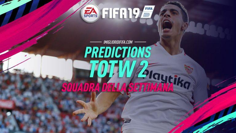 Fifa 19: TOTW 2 Predictions: ecco i giocatori che potrebbero