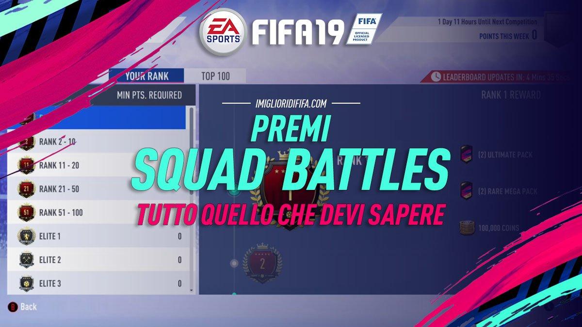 Premi Squad Battles Fifa 19