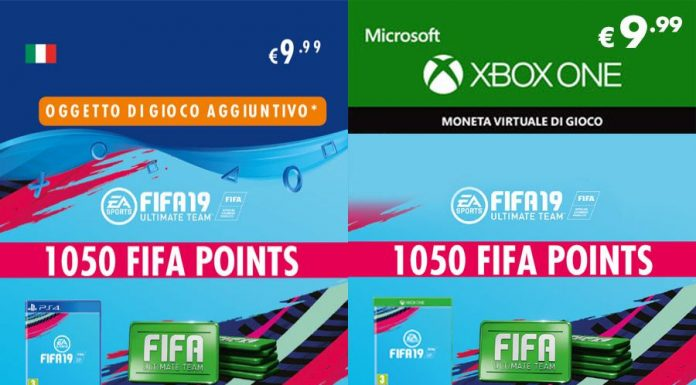 Prezzo Fifa Points Fifa 19