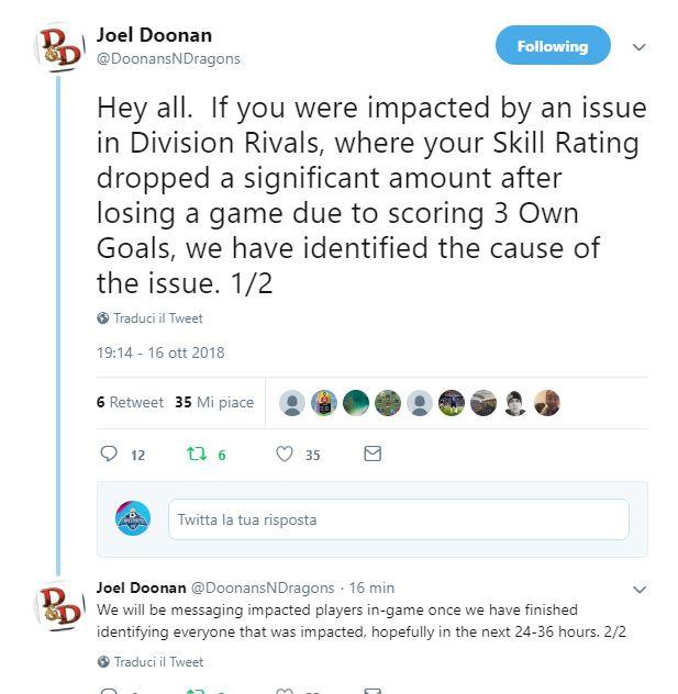 Problemi Division Rivals