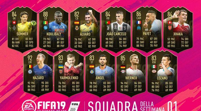 TOTW 1 FIFA 19