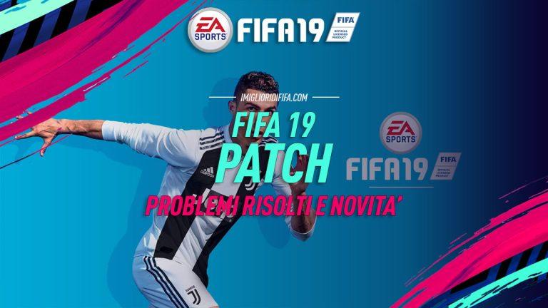 Fifa 19 Patch 1.05 – Title Update 4: nuovo aggiornamento dis