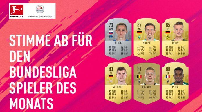 Potm Settembre Bundesliga