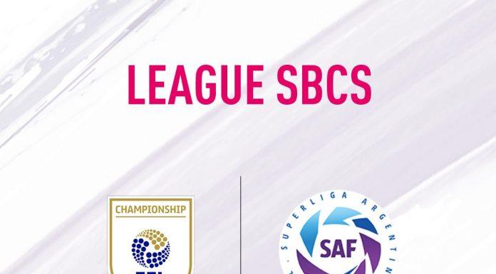 SBC SUperliga Argentina e EFL Championship