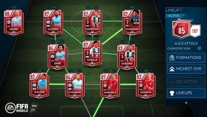 Intesa Fifa Mobile