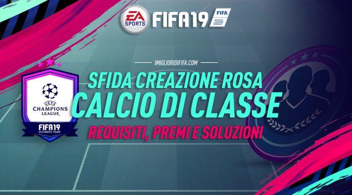 Sfida Creazione Rosa Calcio di Classe