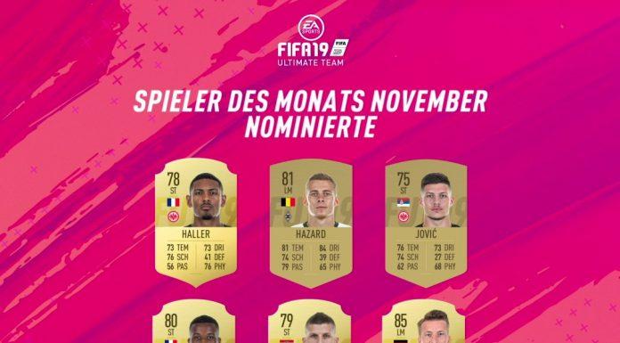 POTM Bundesliga novembre