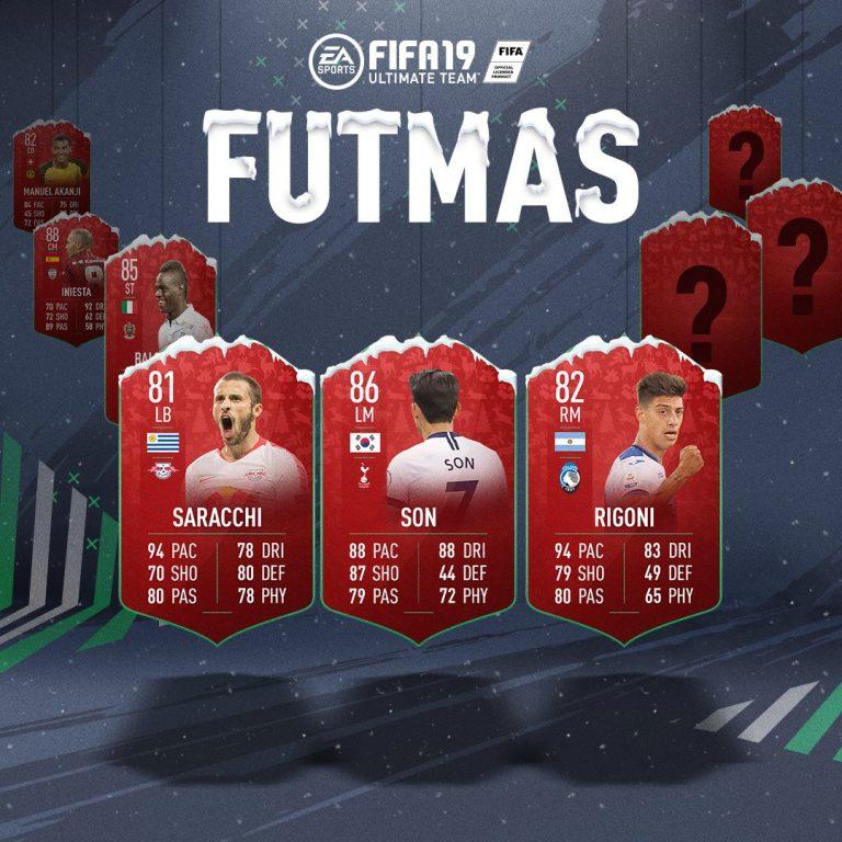 Futmas Fifa 19: trascorri il Natale con FUT! Disponibili 3 nuove SBC!