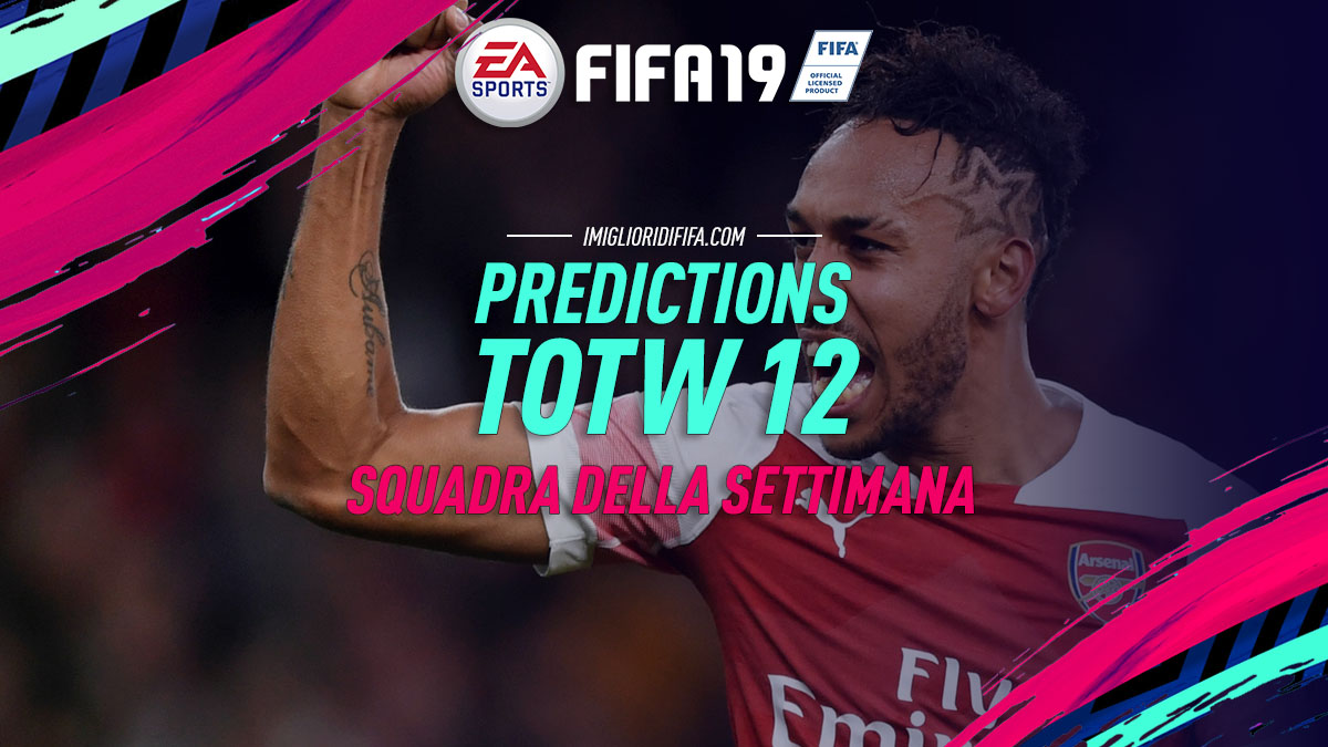 Predictions TOTW 12