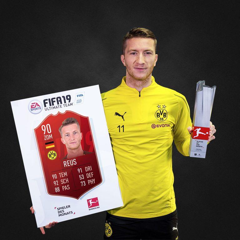 Fifa 19: Marco Reus è il POTM di novembre della Bundesliga!