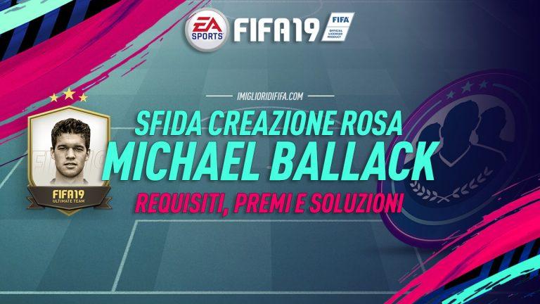 Fifa 19: SBC Michael Ballack Prime – Requisiti, premi e solu