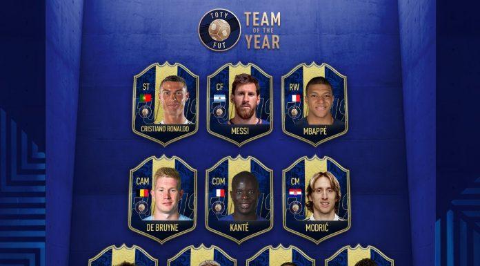 TOTY FIFA 19