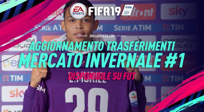 Aggiornamento Trasferimenti FUT FIFA 19