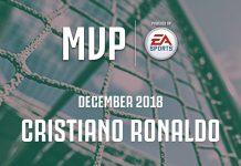 Cristiano Ronaldo MVP Dicembre