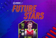 De Jong SBC Future Stars