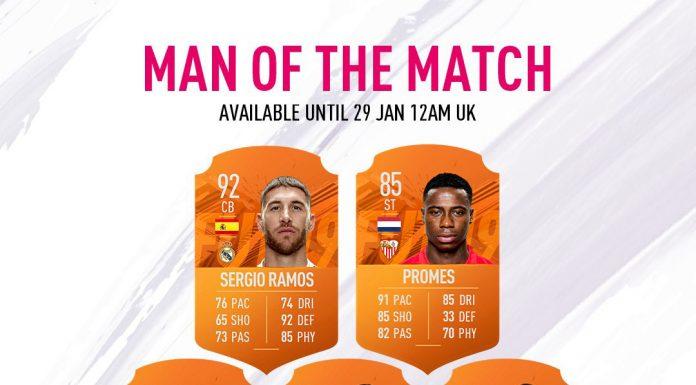 MOTM - Uomo Partita FIFA 19
