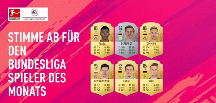 POTM Dicembre Bundesliga