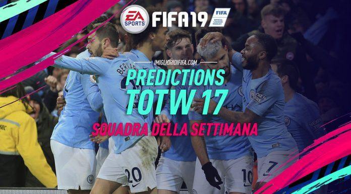 Predictions TOTW 17 Fifa 19