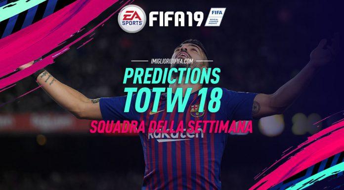Prediction TOTW 18 FIFA 19