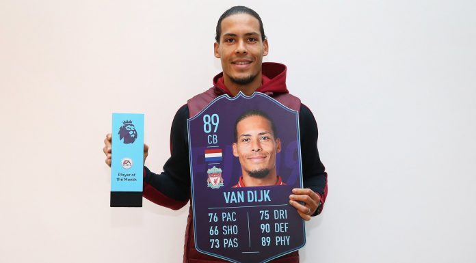 VAN DIJK POTM DIcembre Premier League