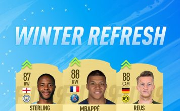 Winter Refresh FIFA 19