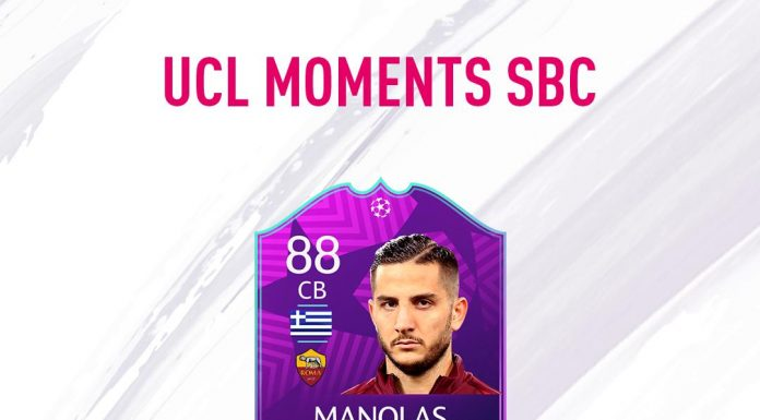 UCL Moments Manolas Champions