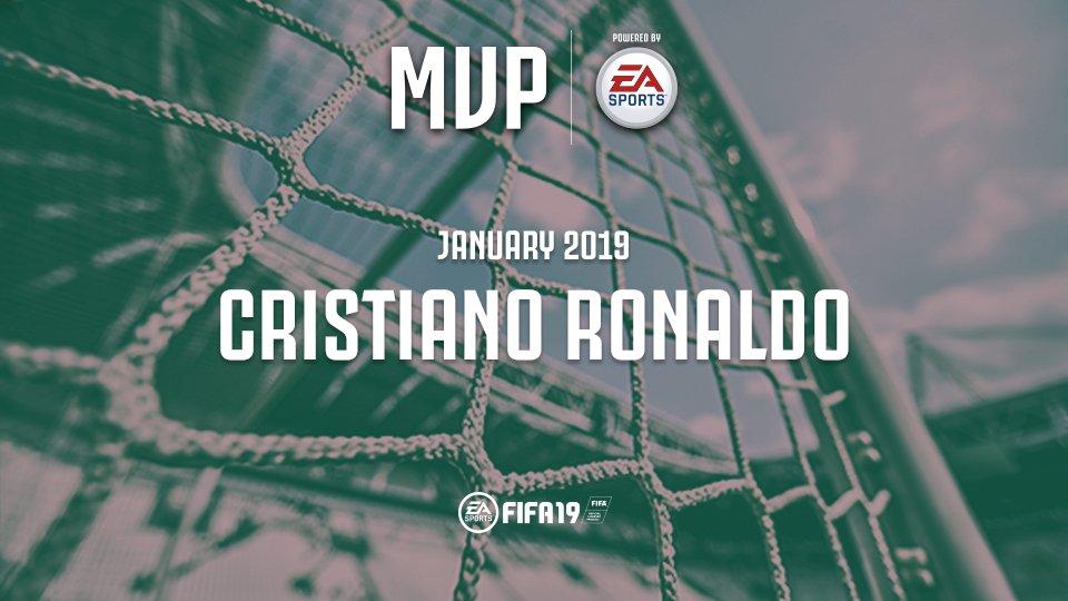 Cristiano Ronaldo MVP Gennaio