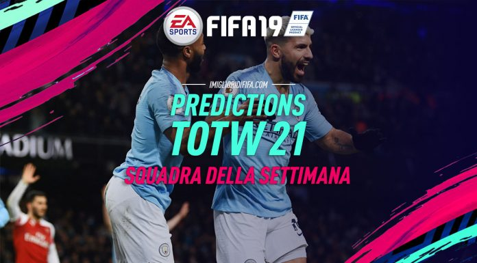 Prediction TOTW 21 Fifa 19
