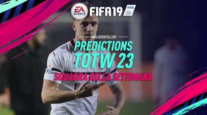 Predictions TOTW 23 FIFA 19