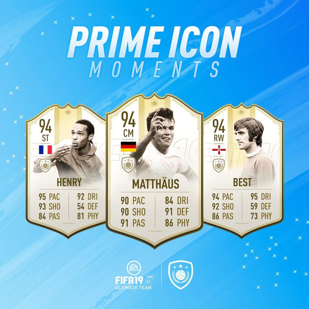 Fifa 19 Prime Icon Moments