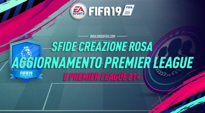 SBC Aggiornamento Premier League 81+