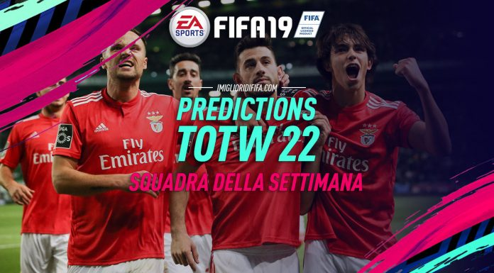 TOTW 22 Prediction FIFA 19