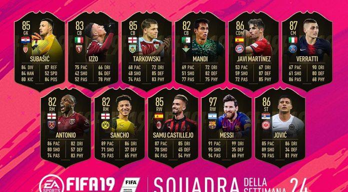 TOTW 24 FIFA 19