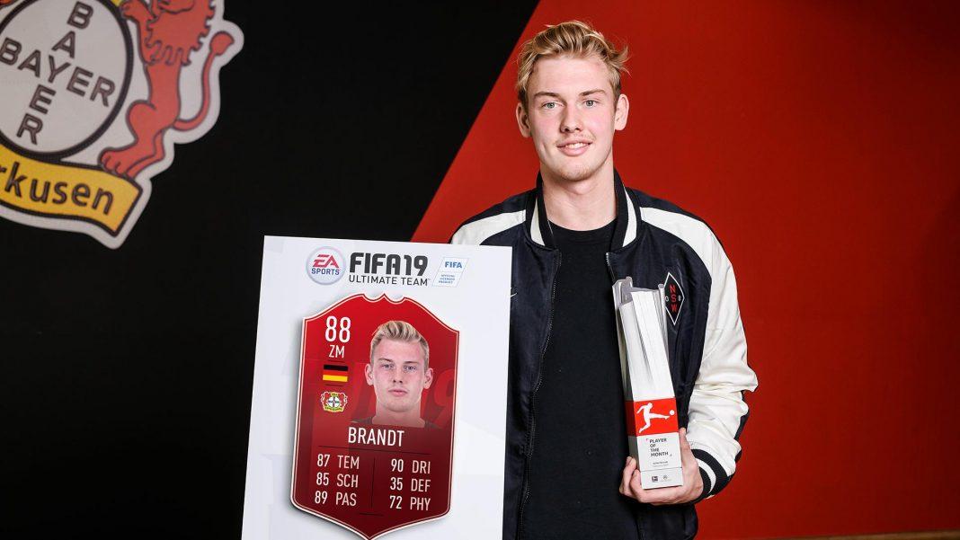 Brandt POTM Febbraio Bundesliga