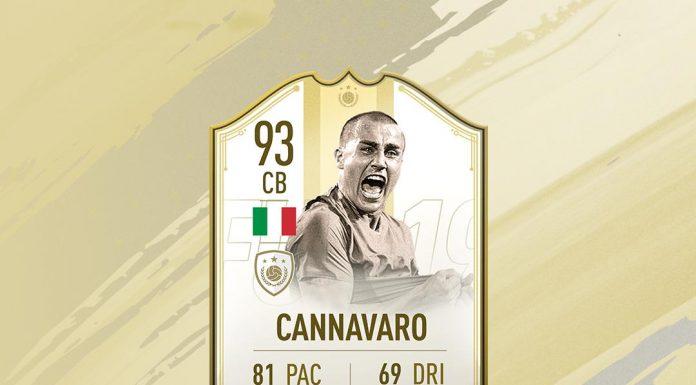 SBC Cannavaro Moment