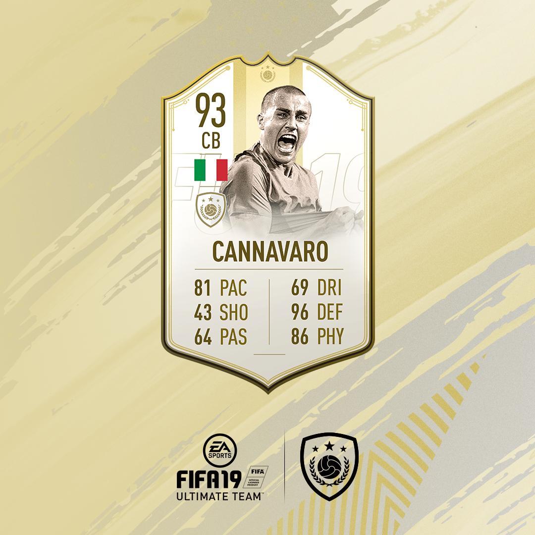 SBC Cannavaro Momenti Prime