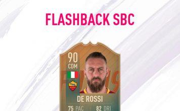 SBC De Rossi Flashback