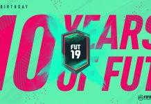 FUT Birthday Fifa 19