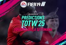 Predictions TOTW 25 FIFA 19