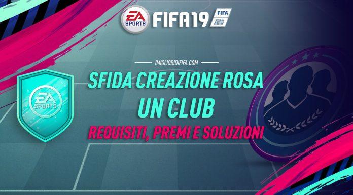 SBC Un Club Requisiti Premi e Soluzioni