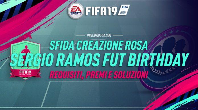 SBC Sergio Ramos FUT Birthday