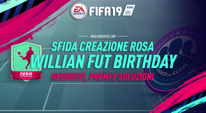 SBC Willian FUT Birthday