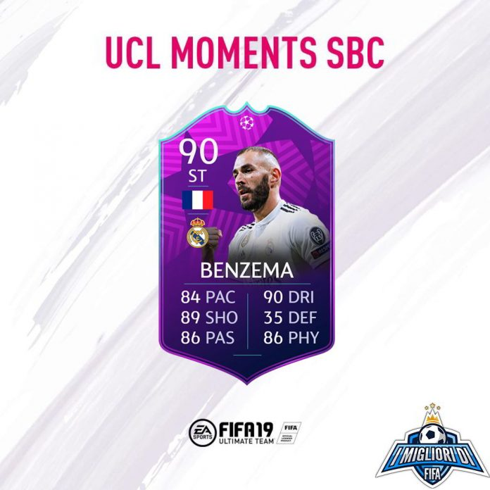 Benzema UCL Moments