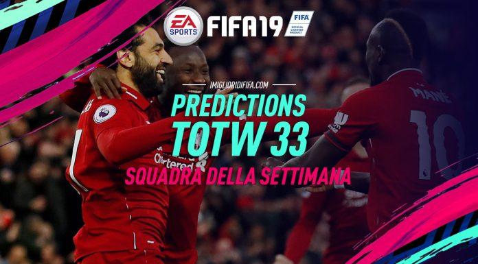 FIFA 19 Prediction TOTW 33