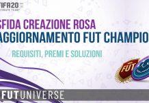 SBC Aggiornamento FUT Champions