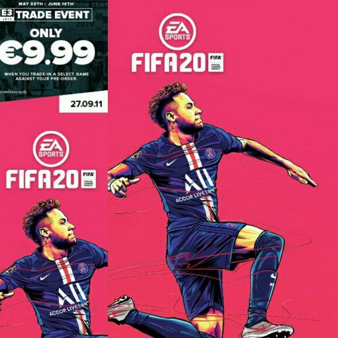 Neymar Copertina FIFA 20